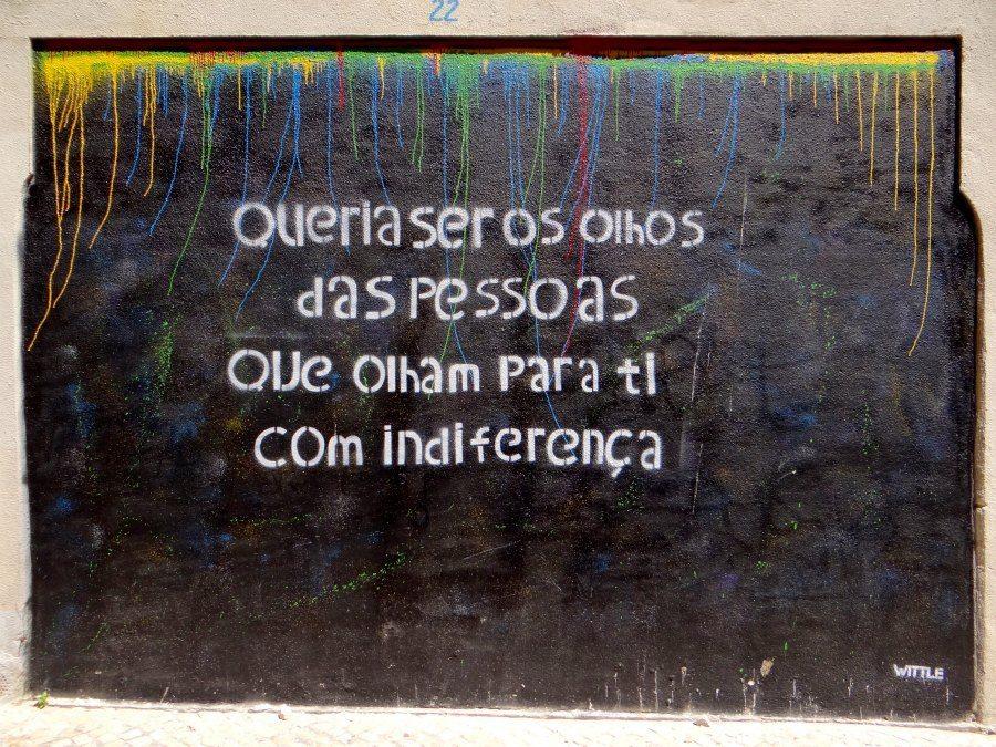street art in Barrio Alto
