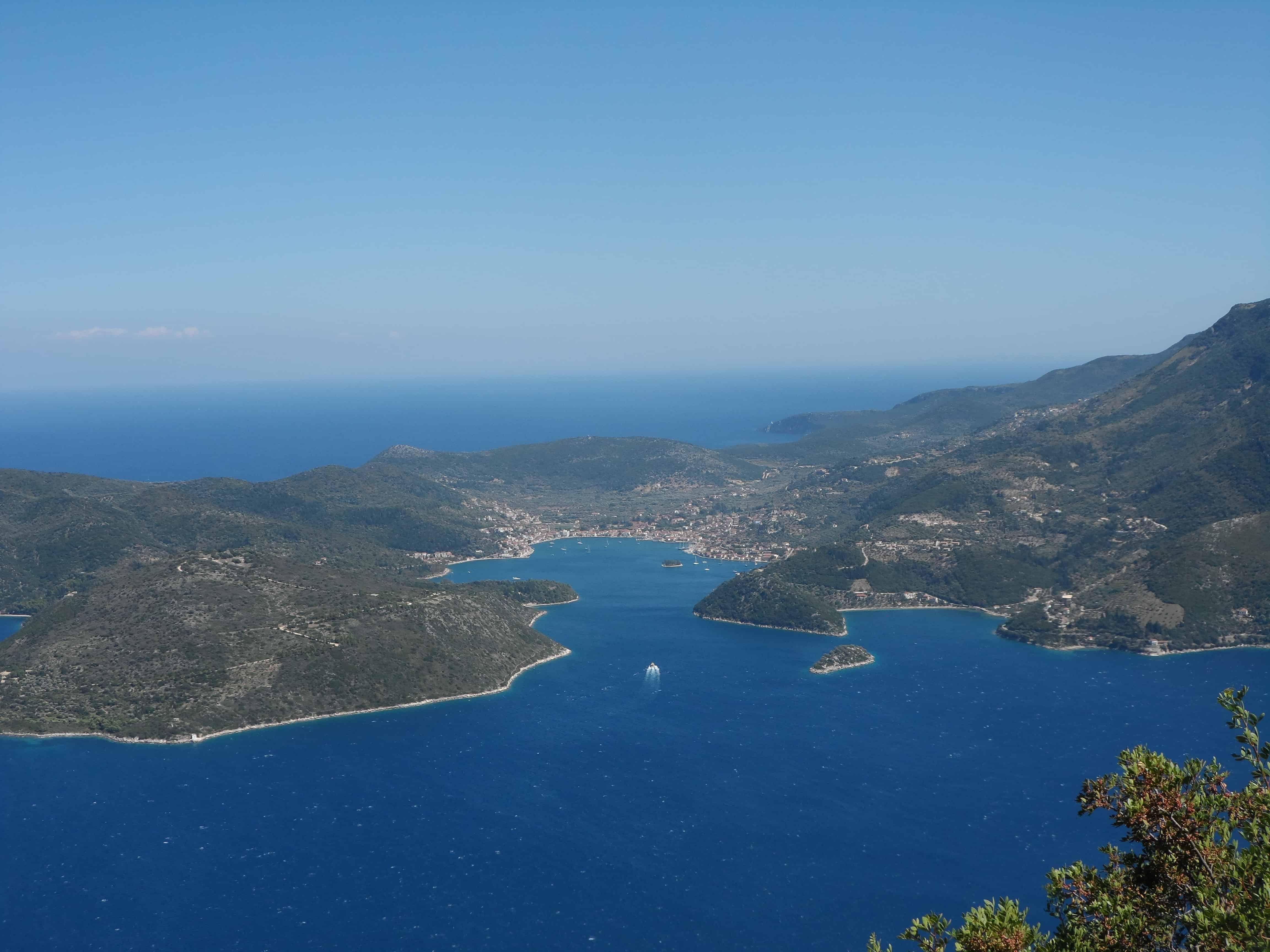 Ithaca sailing Ionian