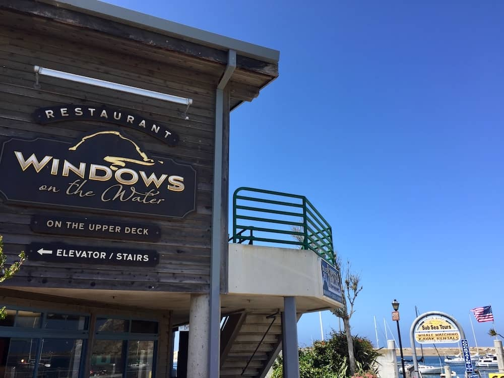 indows on the Water restaurant in Morro Bay, California