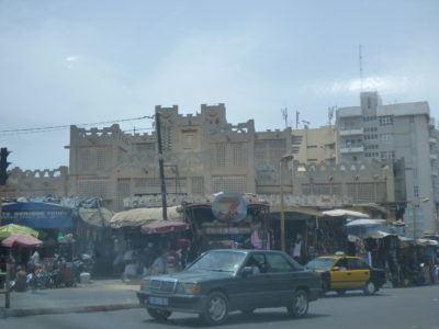 Medina in Dakar