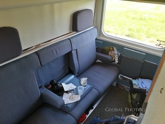via rail sleeper car