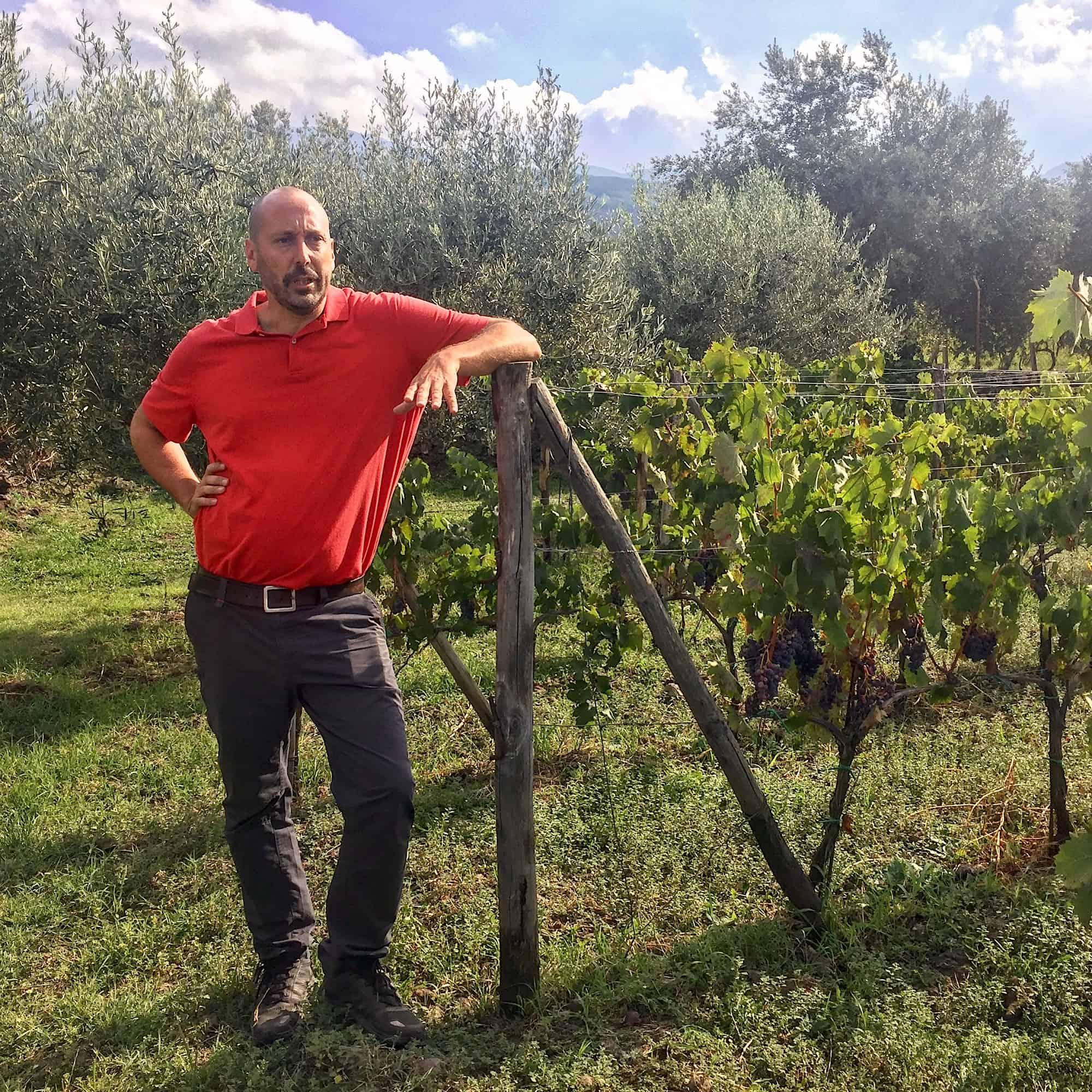 Tascante winemaker on Mount Etna